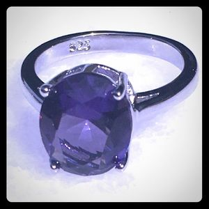 Jewelry - Alexandrite 925 Silver Ring Size 7
